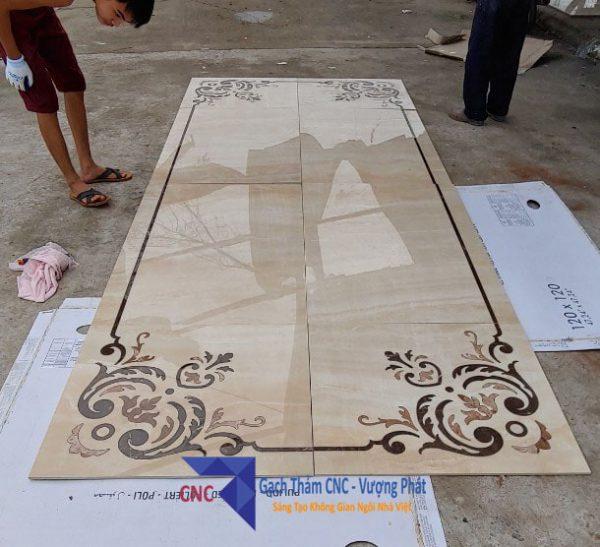 gạch thảm 3d lát nền