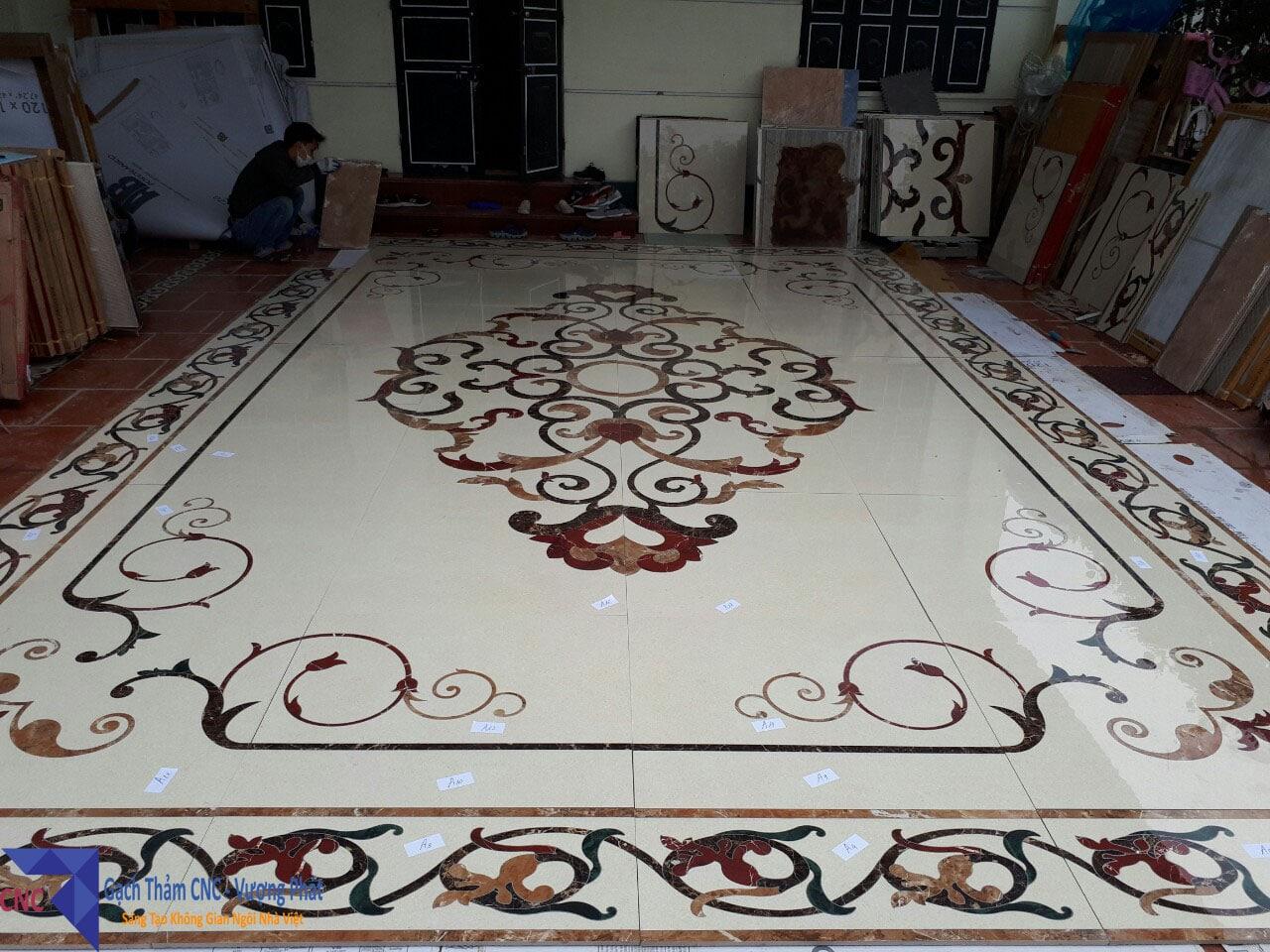 gạch thảm cao cấp trang trí